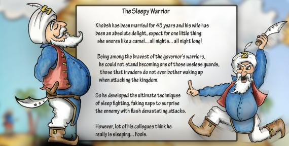 The Sleepy Warrior